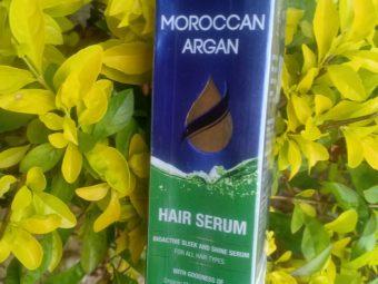 St.Botanica Moroccan Argan Hair Serum -non sticky serum-By realbeauty