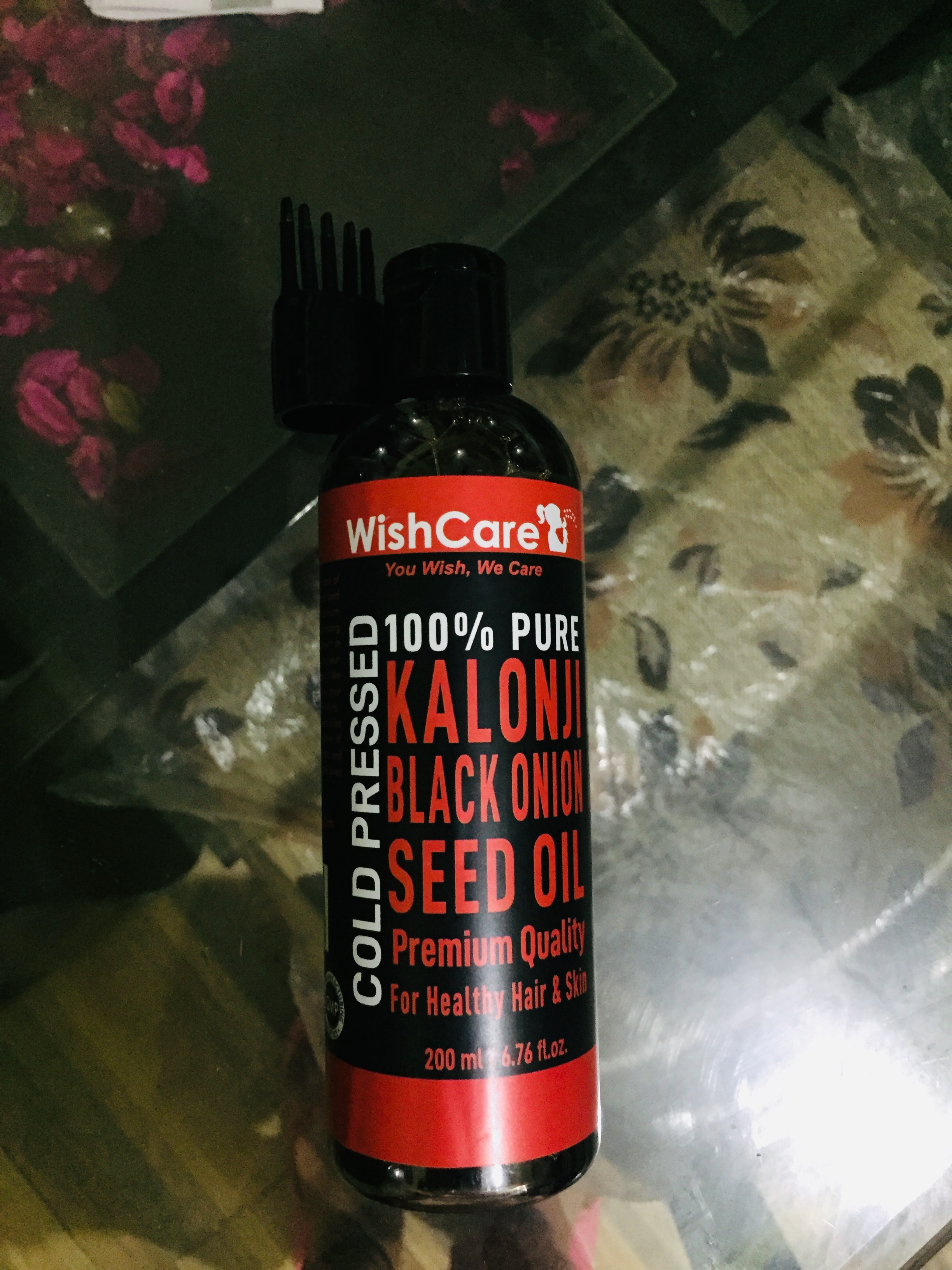 WishCare Premium Cold Pressed Kalonji Black Seed Oil-Convenient to use-By priyaarora17