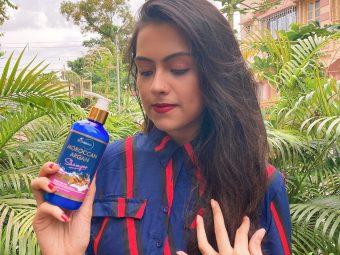 StBotanica Moroccan Argan Hair Shampoo pic 1-Get Silky & Soft hair-By bichitra1392