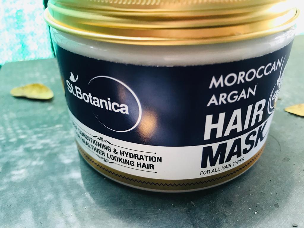 St.Botanica Moroccan Argan Hair Mask pic 2-Best hair mask for fizzy-By house_of_bom_bae_teller