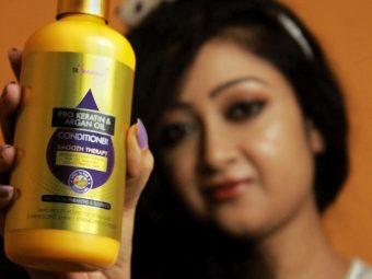 StBotanica Pro Keratin & Argan Oil Conditioner pic 4-Salon like smooth hair!-By debolina_sen