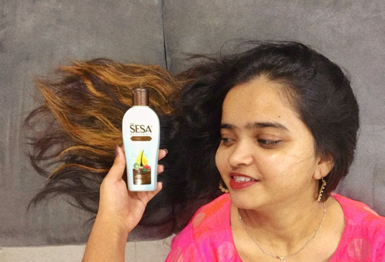 Sesa+ Strong Roots-Best for reducing hairfall-By mrunalip