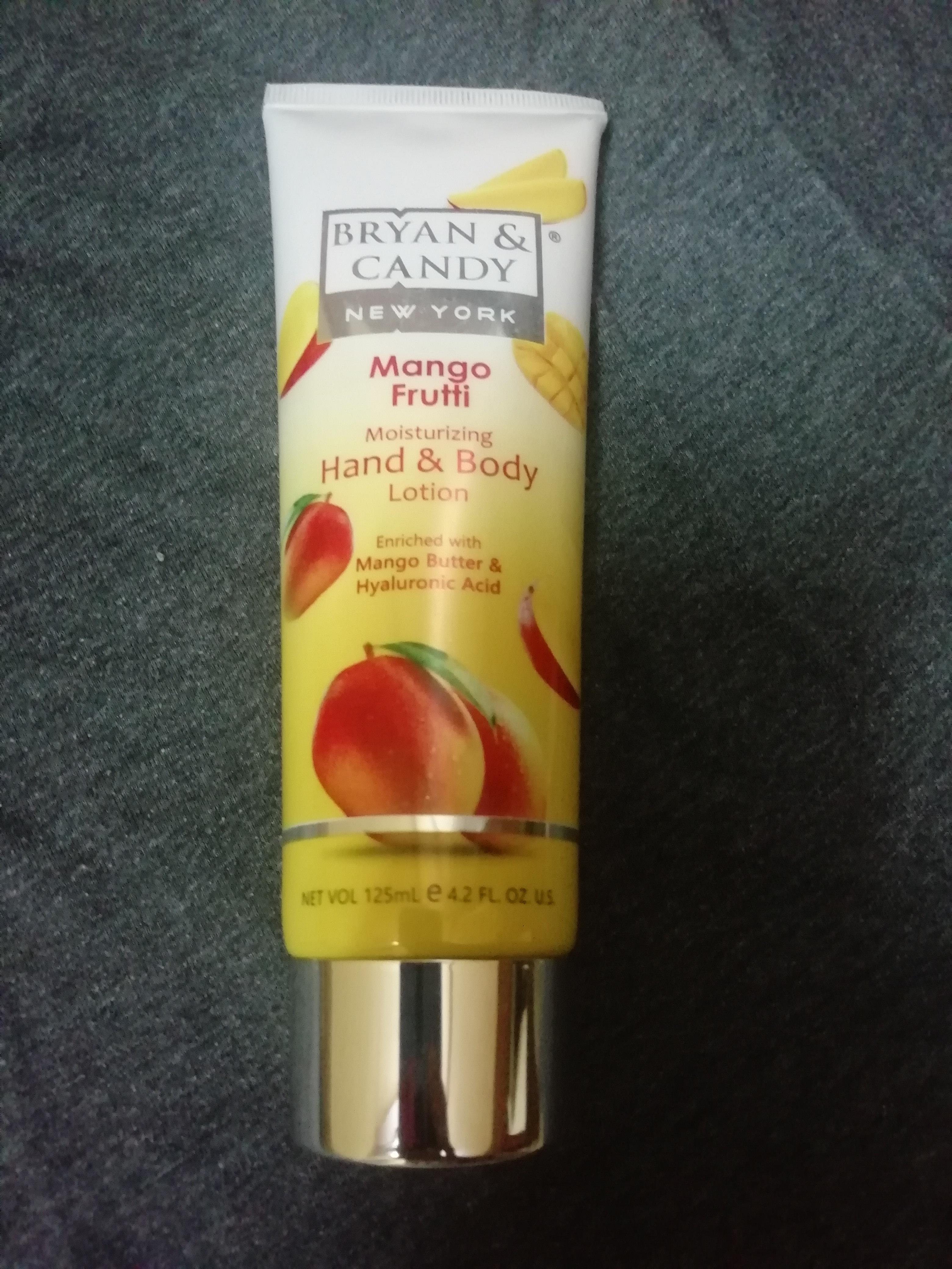 Bryan & Candy New York Mango Frutti Hand and Body Lotion -Mango hand and body lotion-By meha