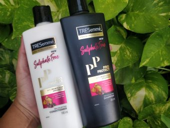 Tresemme Pro Protect Sulphate Free Shampoo pic 1-Mild cleanser-By sri._.reviwer