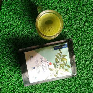 Kimino Japanese Organic Matcha Green Tea Powder pic 2-Great tea-By nikeetha