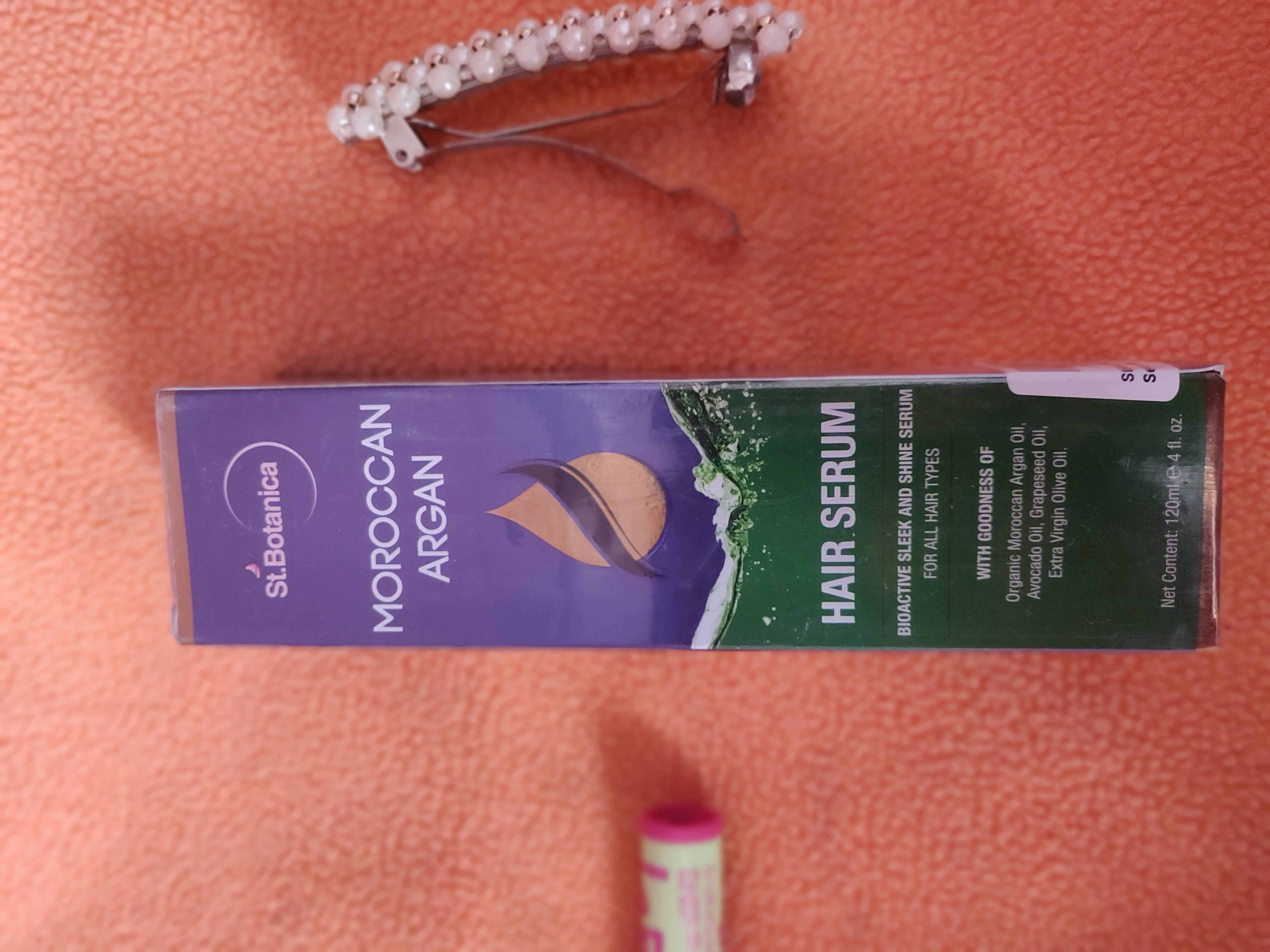 St.Botanica Moroccan Argan Hair Serum-A must try hair serum-By keerthisiva-1