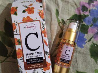 St.Botanica Vitamin C 15% Age Defying & Skin Clearing Serum -One of the best vitamin c serum-By unmita