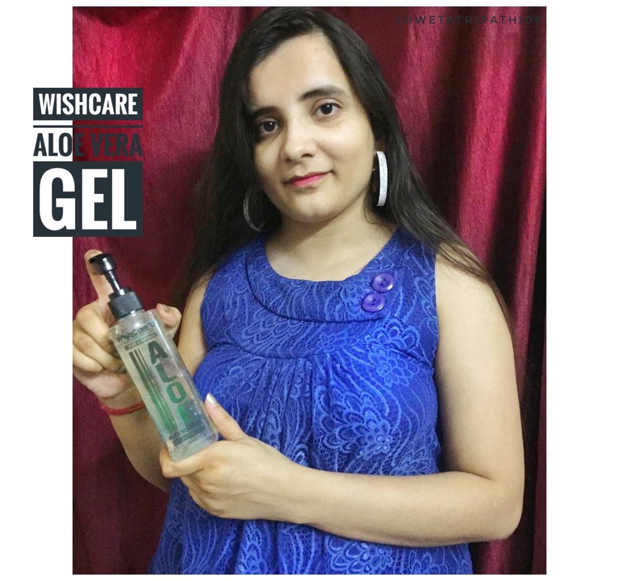 WishCare Pure & Natural Aloe Vera Gel -Aloe vera gel-By shwetatripathi0