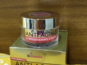 St.Botanica Pure Radiance Anti Aging & Brightening Cream -perfect cream for anti ageing and glow addition-By eat_style_travel_repeat