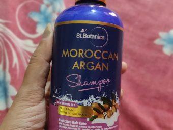 StBotanica Moroccan Argan Hair Shampoo -chemical free-By anamika_sinha