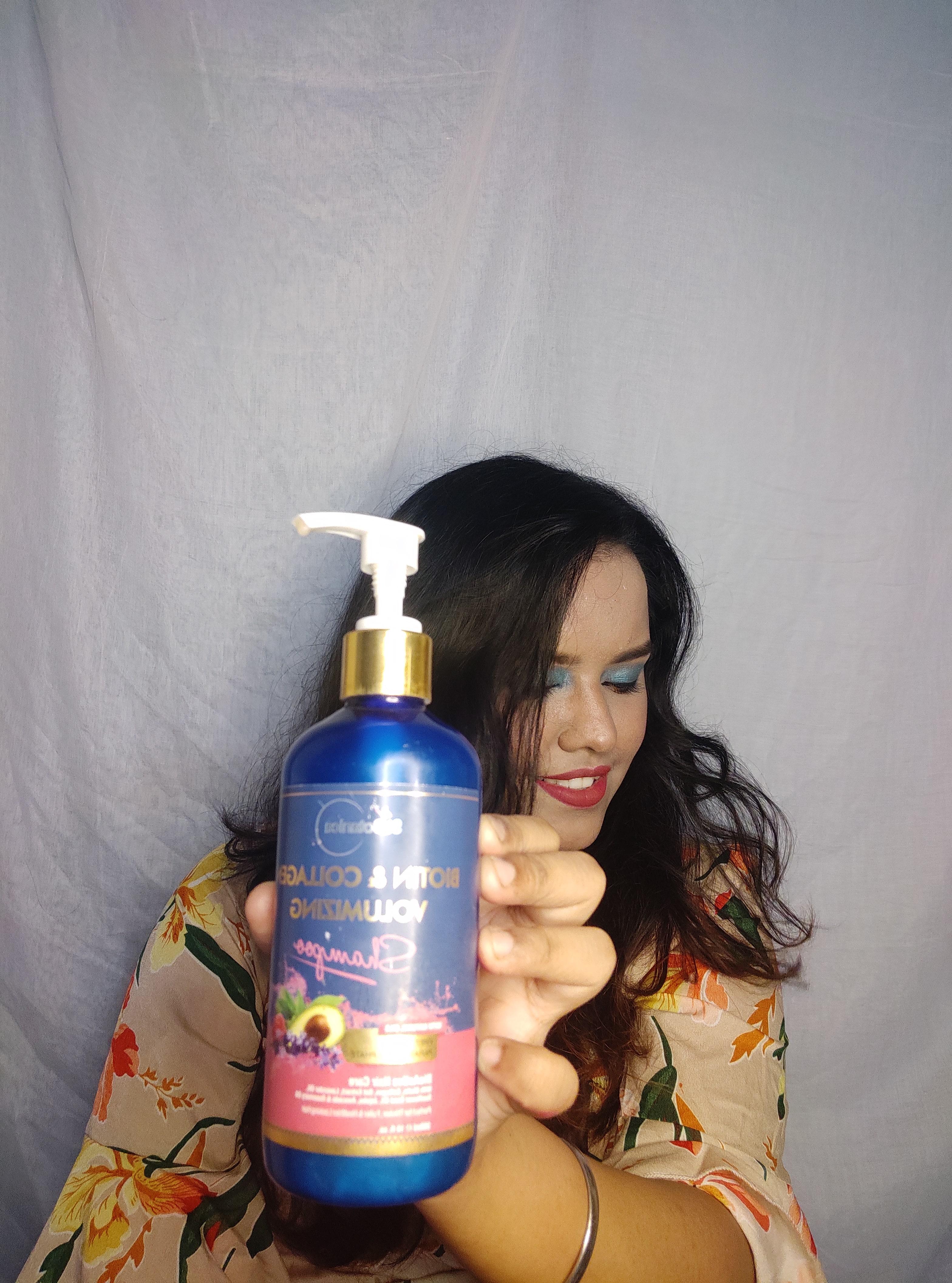 St.Botanica Biotin & Collagen Volumizing Hair Shampoo-For good volumizing hair-By imankitabiswas-1