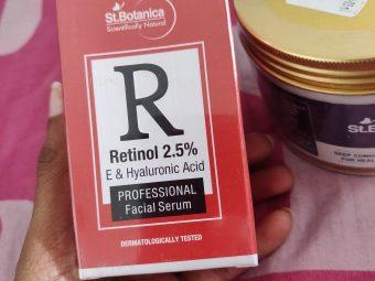 St.Botanica Retinol 2.5% Vitamin E & Hyaluronic Acid Professional Facial Serum pic 1-Amazing product-By nivethitha