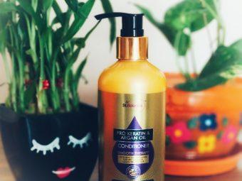 StBotanica Pro Keratin & Argan Oil Conditioner pic 3-Salon like smooth hair!-By debolina_sen