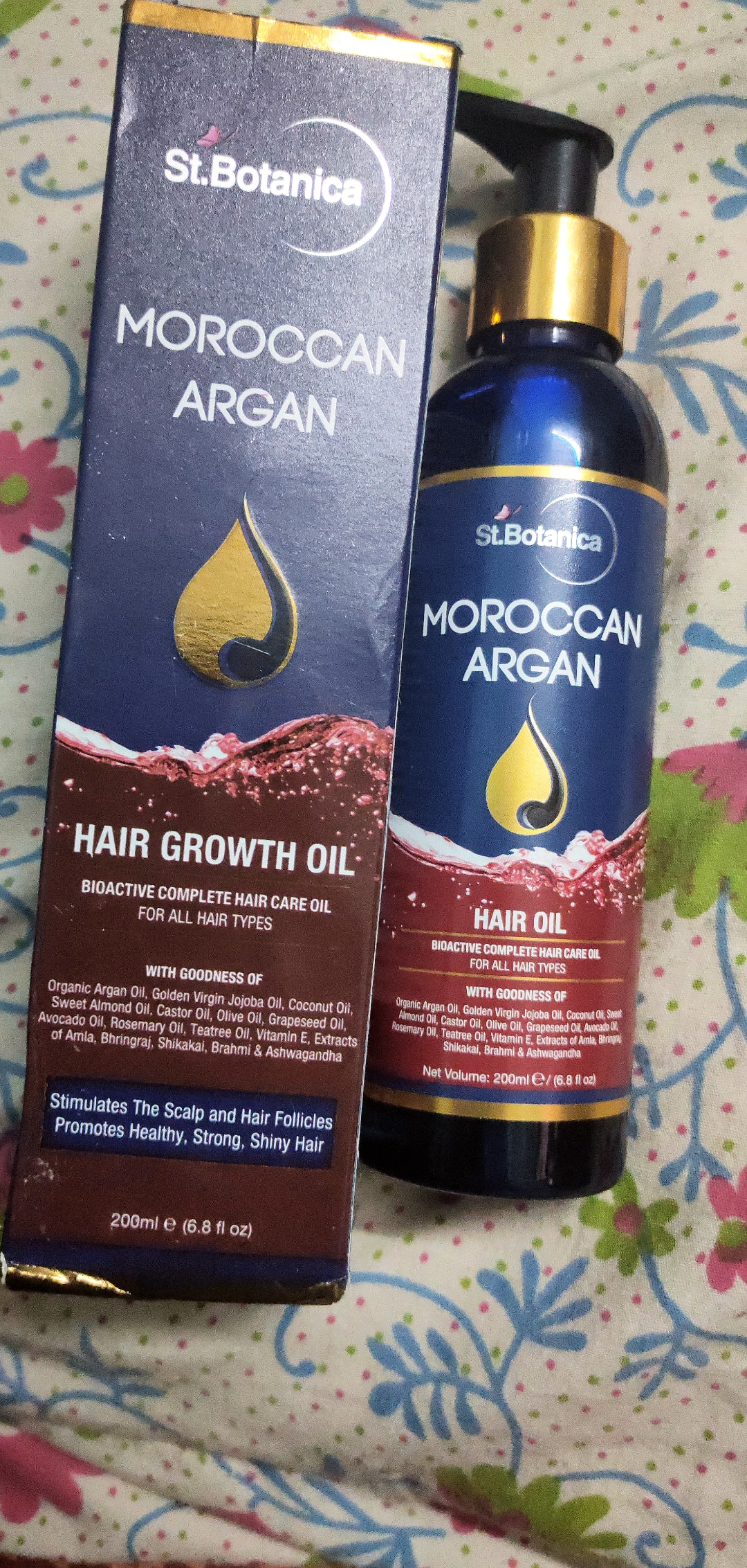 St.Botanica Moroccan Argan Hair Growth Oil pic 1-Best one-By radhika_kapoor