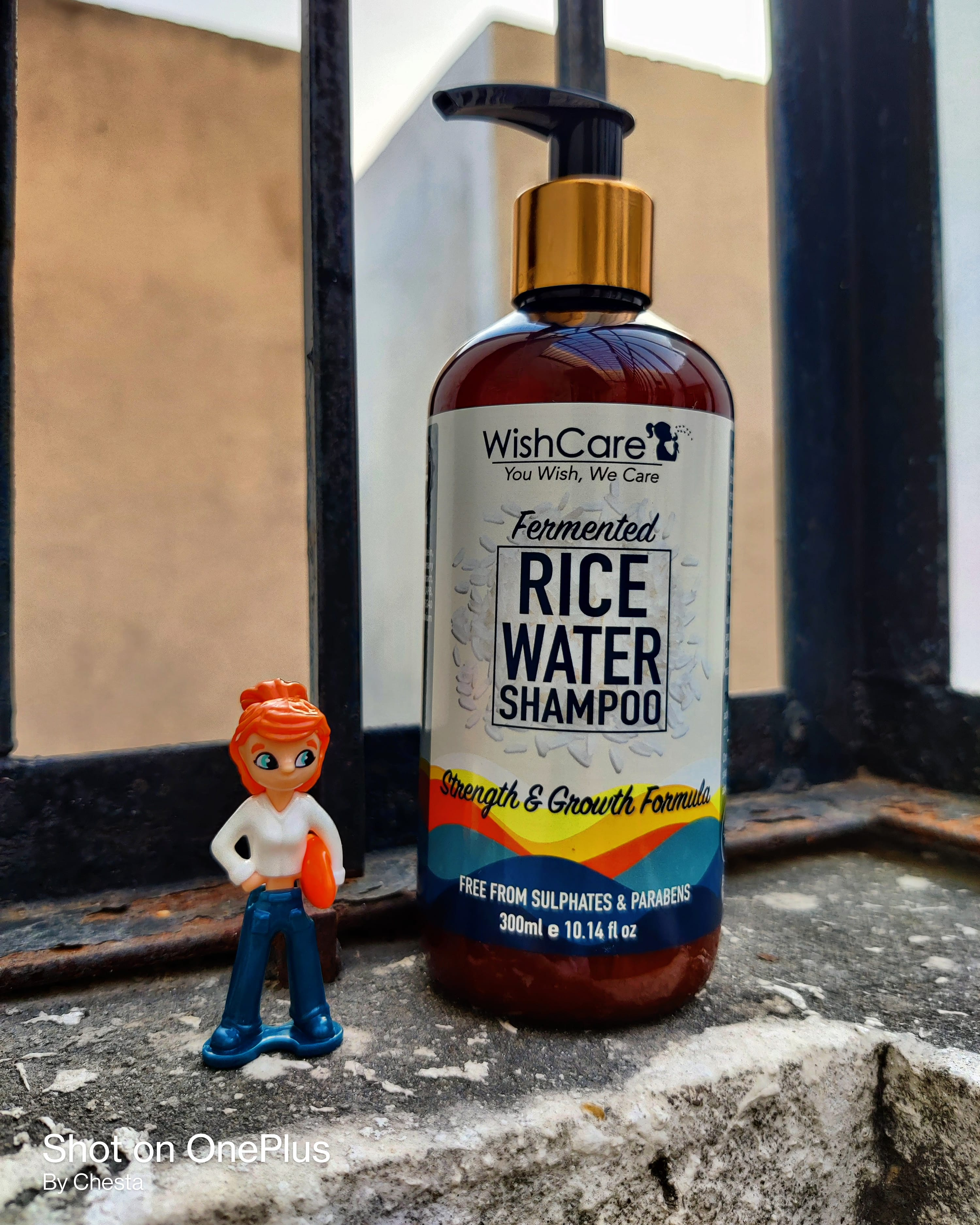 WishCare Fermented Rice Water Shampoo-Strong and smooth hairs-By chesta