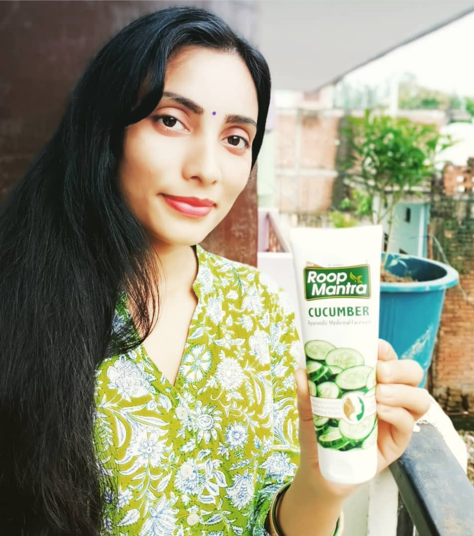 Roop Mantra Cucumber Face Wash -Best Facewash for Daily Uses-By vidhyamandal