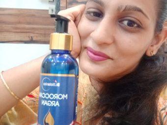 St.Botanica Moroccan Argan Hair Growth Oil -Complete satisfaction after its usage.-By bhagyashree_kanuga_nimani
