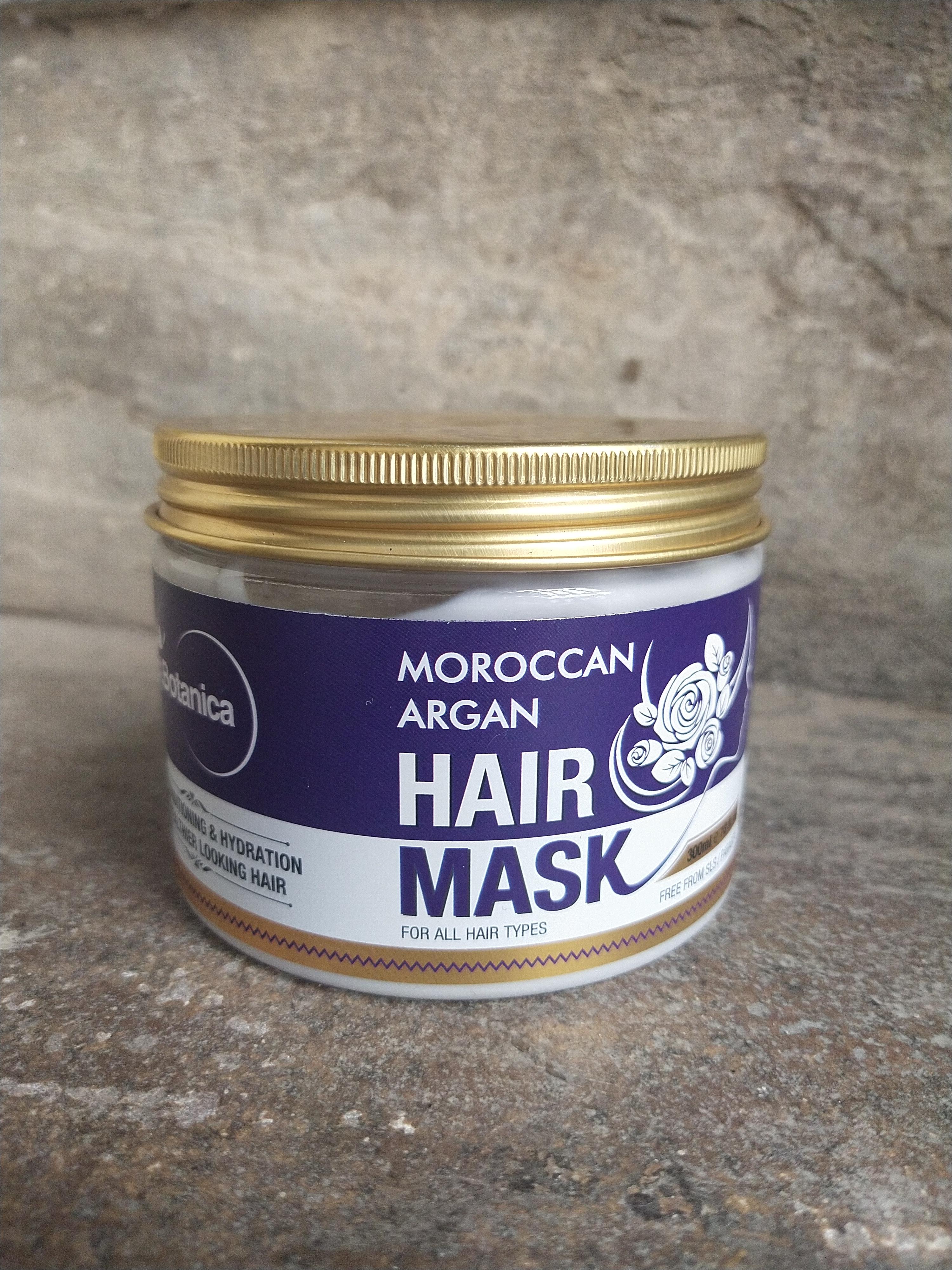 St.Botanica Moroccan Argan Hair Mask-Healthy hair-By agrawaalpriyanka