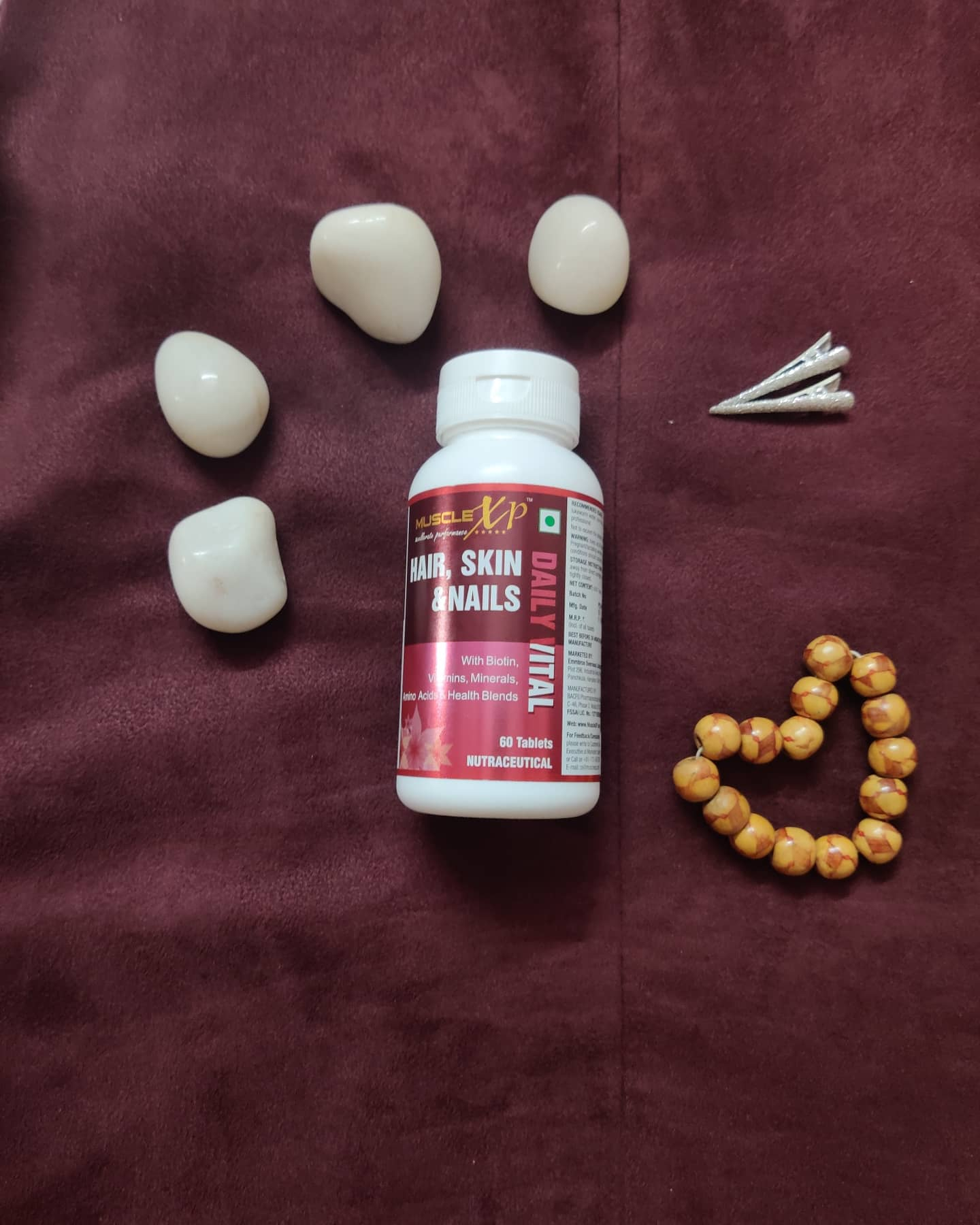 MuscleXP Biotin Hair, Skin & Nails Complete MultiVitamin With Amino Acids -Best supplement-By saniya_dilori