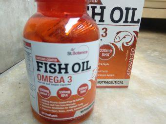 St.Botanica Salmon Fish Oil 1000mg; 300mg Omega-3 with 180mg EPA, 120mg DHA – 60 Enteric Coated Softgels -Good product-By srishti_bhagat
