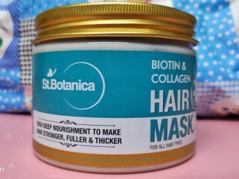 St.Botanica Biotin & Collagen Hair Mask pic 2-Strong Hair Mask-By nanchie