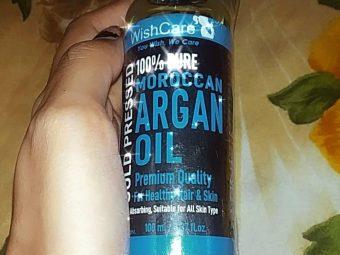 WishCare Pure Cold Pressed Moroccan Argan Oil -satisfied so far-By purvi10