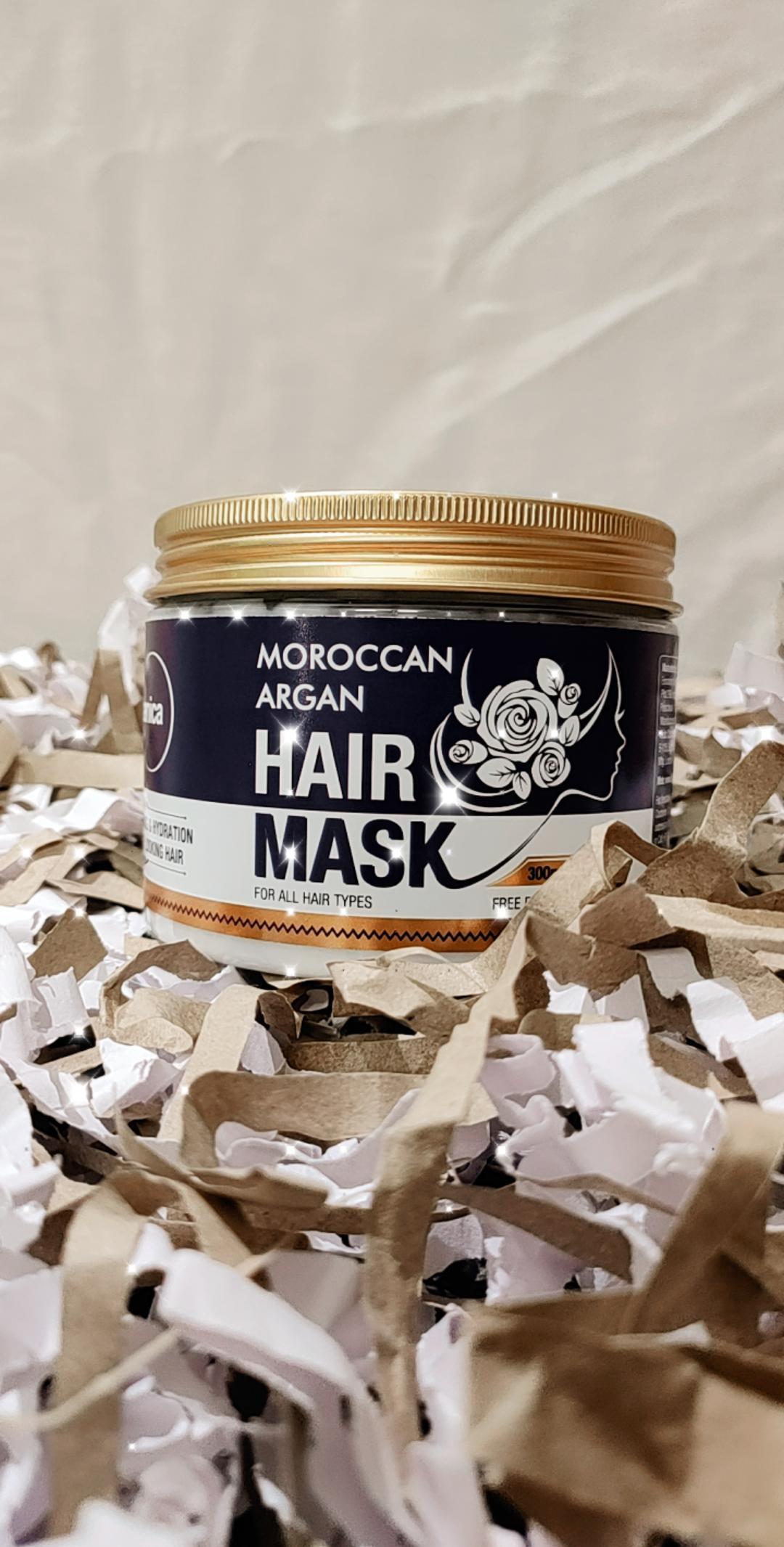 St.Botanica Moroccan Argan Hair Mask-Hair mask-By taniyawarke-1