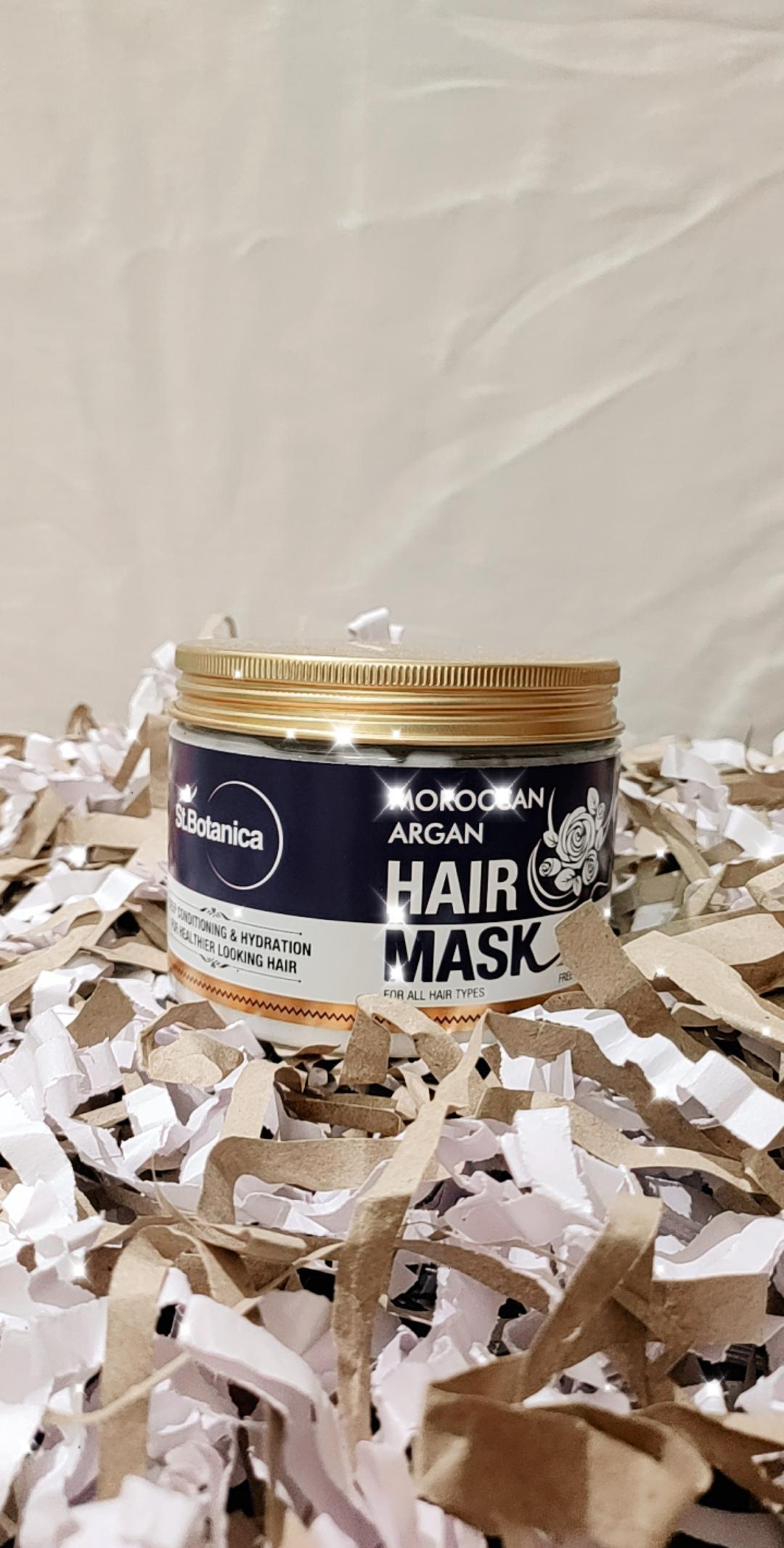 St.Botanica Moroccan Argan Hair Mask-Hair mask-By taniyawarke-2
