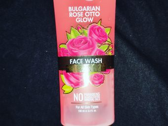 StBotanica Bulgarian Rose Otto Glow Face Wash -Give it a try-By erum_khoja