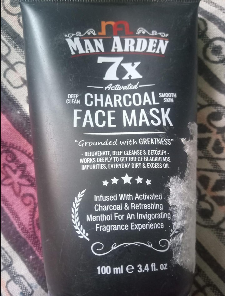 Man Arden 7X Activated Charcoal Face Mask pic 1-For sensitive skin-By aditya_kumar_gupta