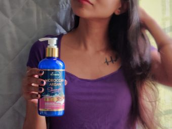 StBotanica Moroccan Argan Hair Shampoo pic 2-Perfect product for Frizzy Hair-By angs