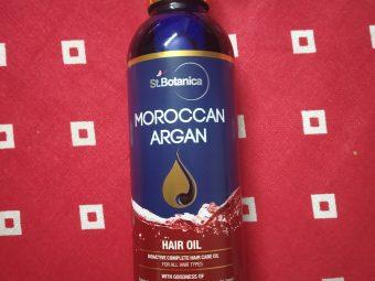 St.Botanica Moroccan Argan Hair Growth Oil -No More Hairfall Problem-By ria_dargan