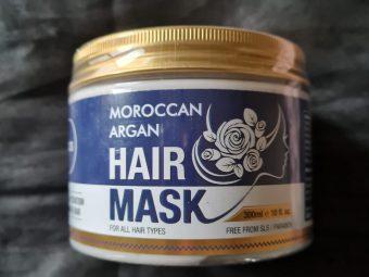 St.Botanica Moroccan Argan Hair Mask -Improves hair texture-By nisish