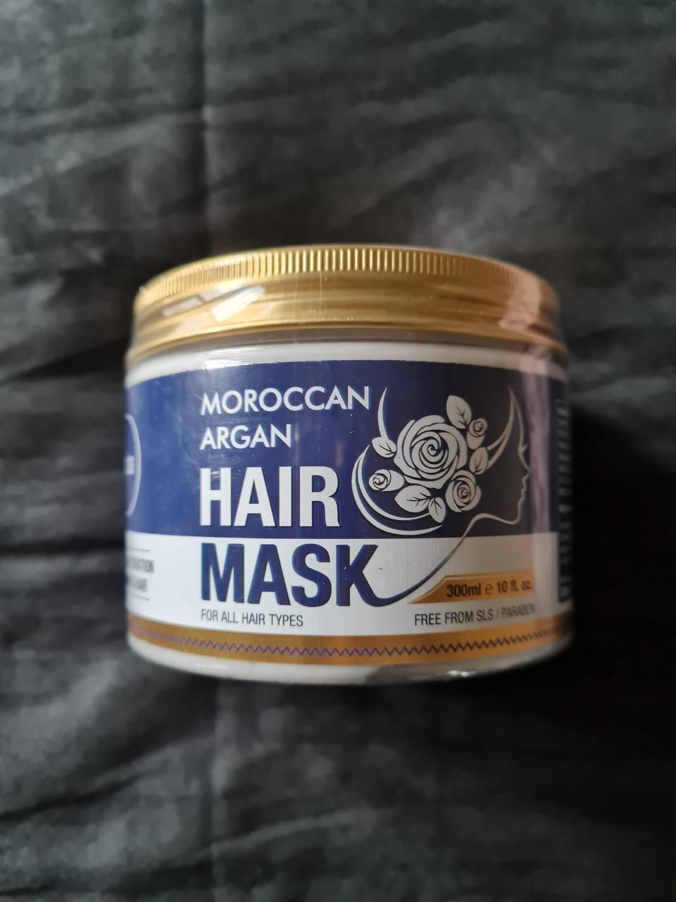 St.Botanica Moroccan Argan Hair Mask-Improves hair texture-By nisish