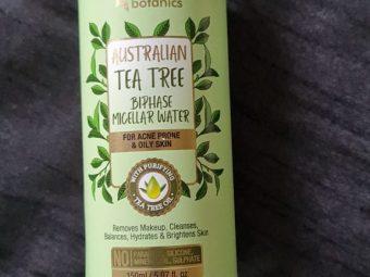 Oriental Botanics Australian Tea Tree Bi-Phase Micellar Water -Effective cleanser-By nisish