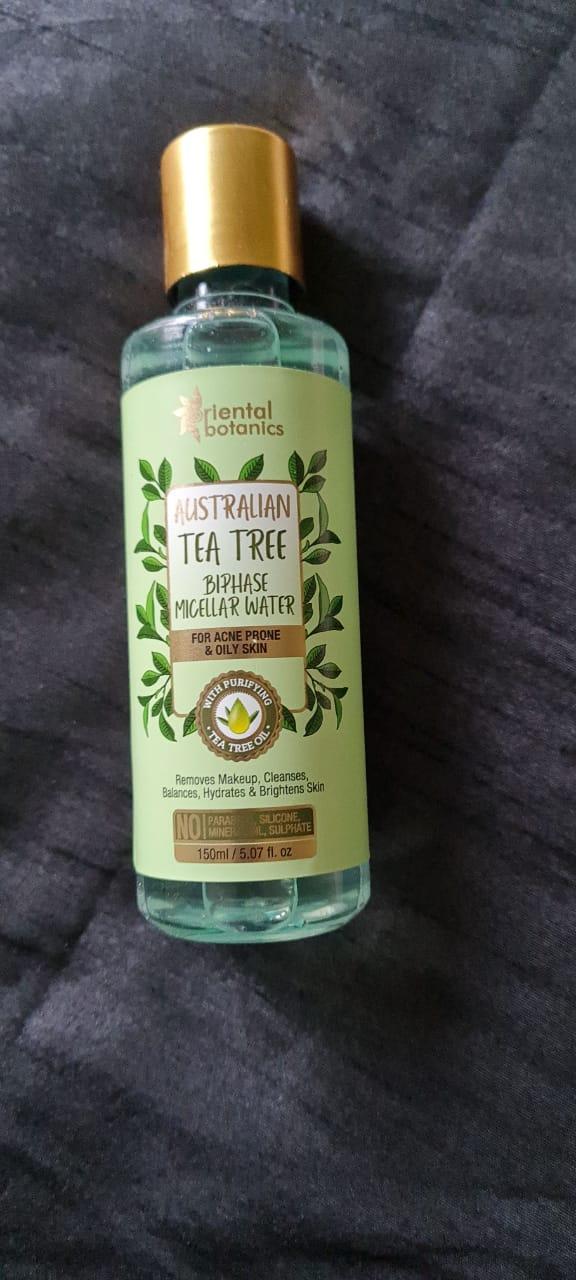 Oriental Botanics Australian Tea Tree Bi-Phase Micellar Water-Effective cleanser-By nisish