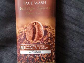 St.Botanica Mocha Coffee Face Wash -Smoothens the skin-By nisish