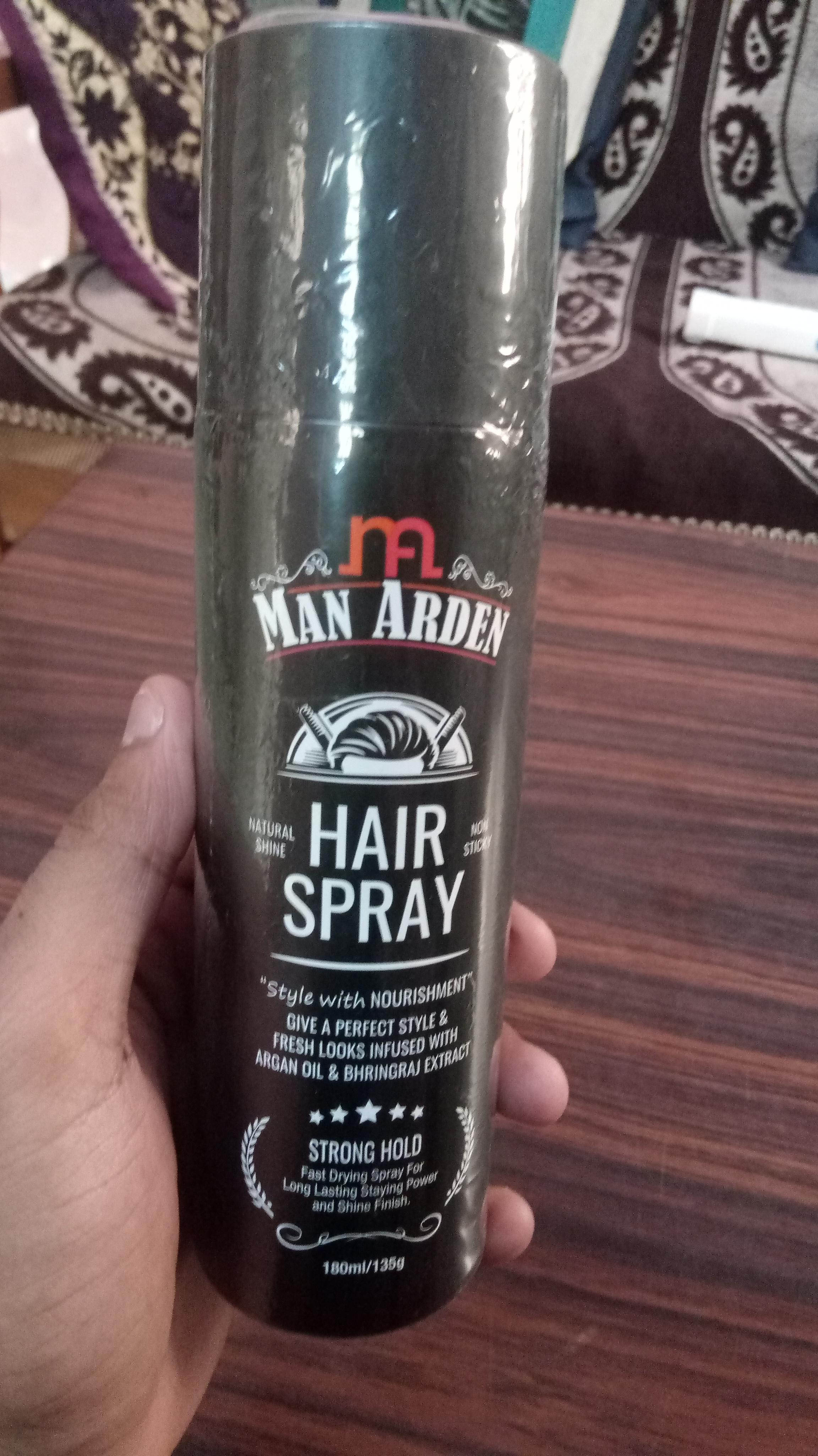 Man Arden Hair Spray-Awesome Hair Spray-By deepaksoni