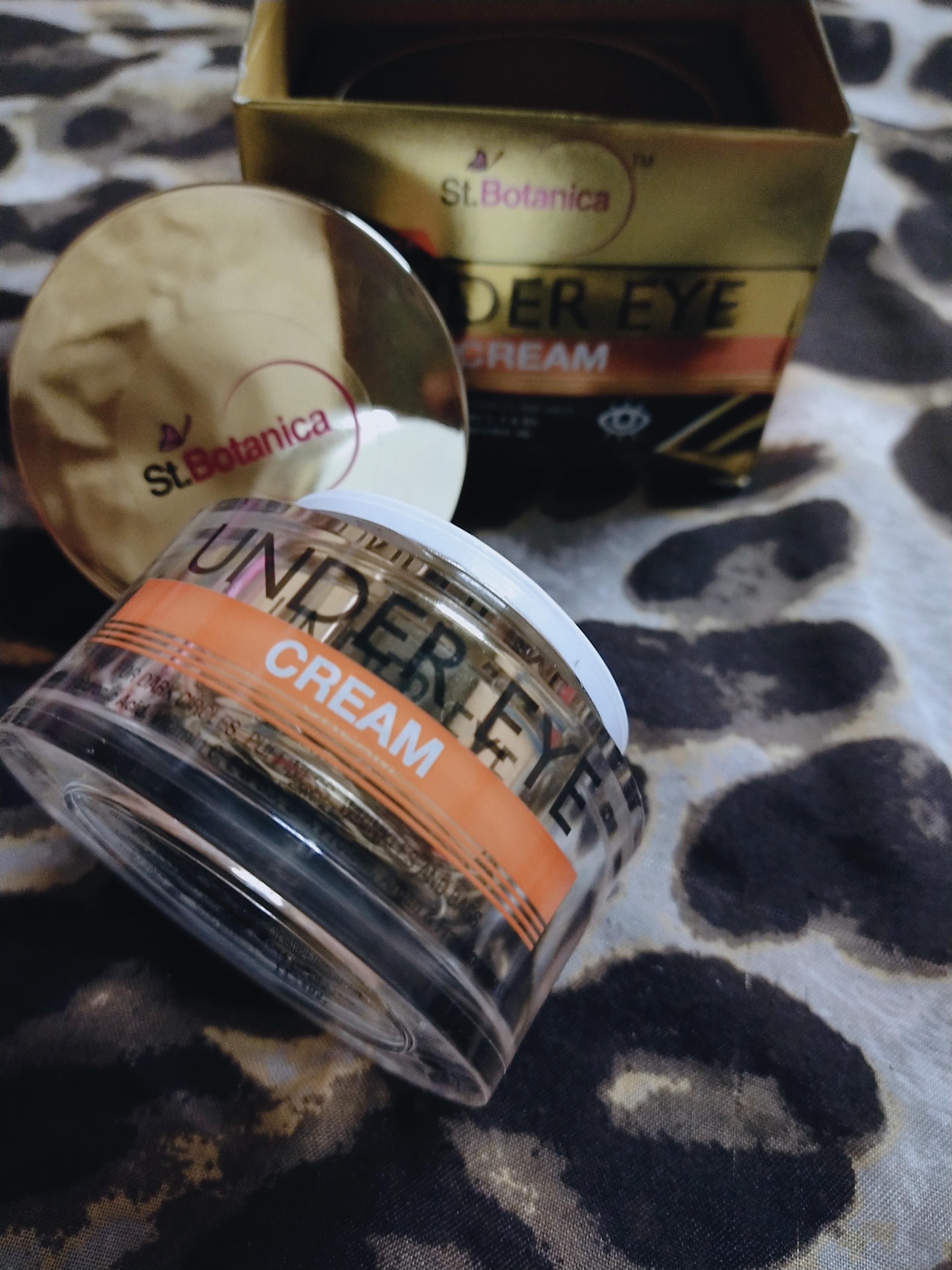 StBotanica Pure Radiance Under Eye Cream -Best product for dark circles-By tajmim_rahmani