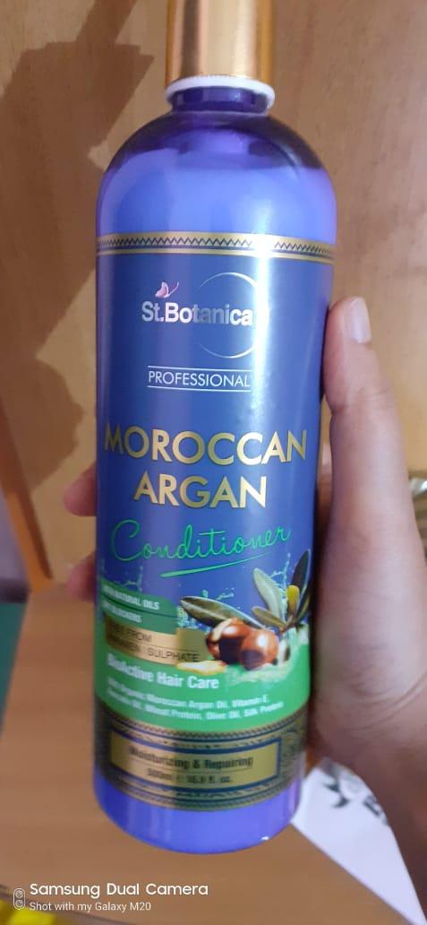 St.Botanica Moroccan Argan Hair Conditioner-Very nice, I liked it-By akshatagupta