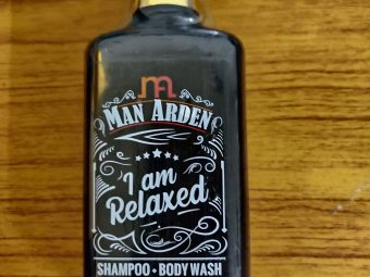 Man Arden I Am Relaxed Shampoo + Body Wash pic 1-Enchanting smell with a great shampoo-By hkmurali
