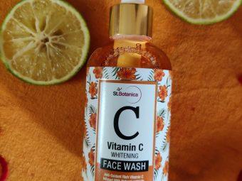 St.Botanica Vitamin C Face Wash -Must Use face wash-By nikichoudhury