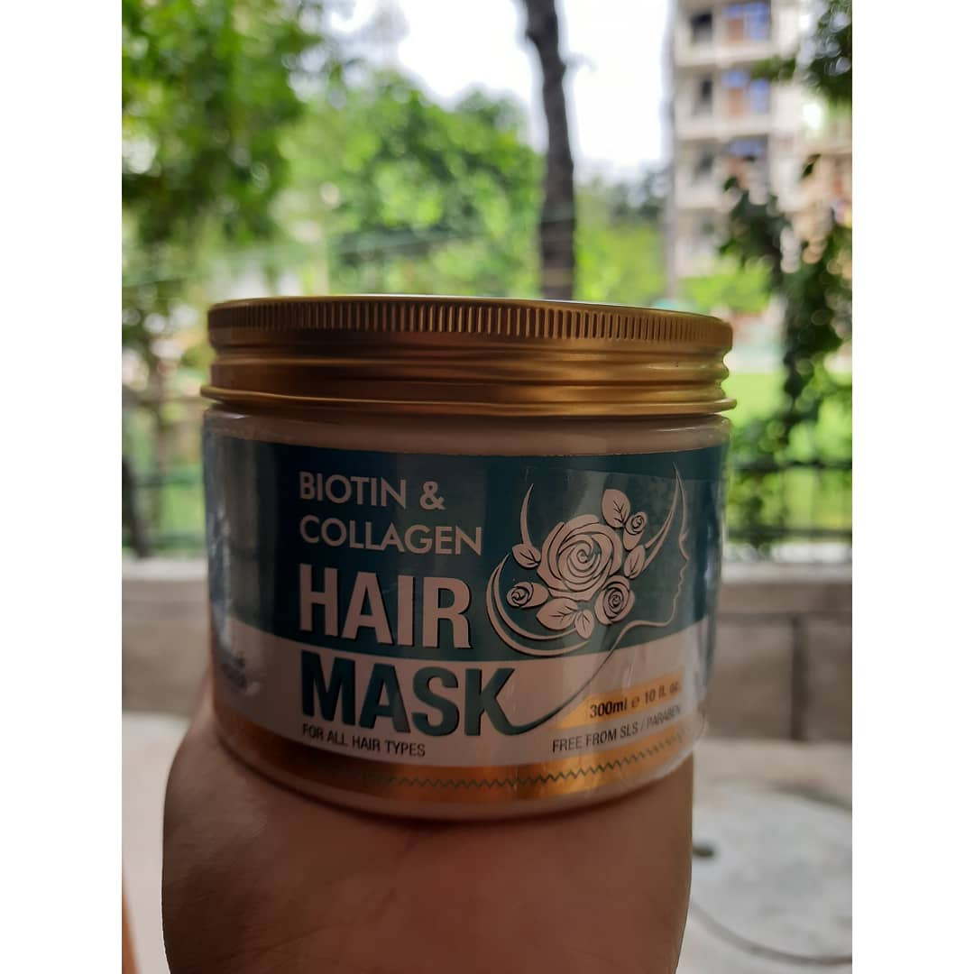 St.Botanica Biotin & Collagen Hair Mask -Loved the product.-By kanchanbhardwaj
