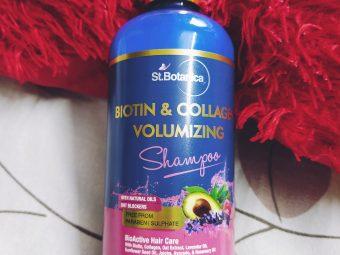 St.Botanica Biotin & Collagen Volumizing Hair Shampoo pic 2-Volumize your hair.-By isharajput883