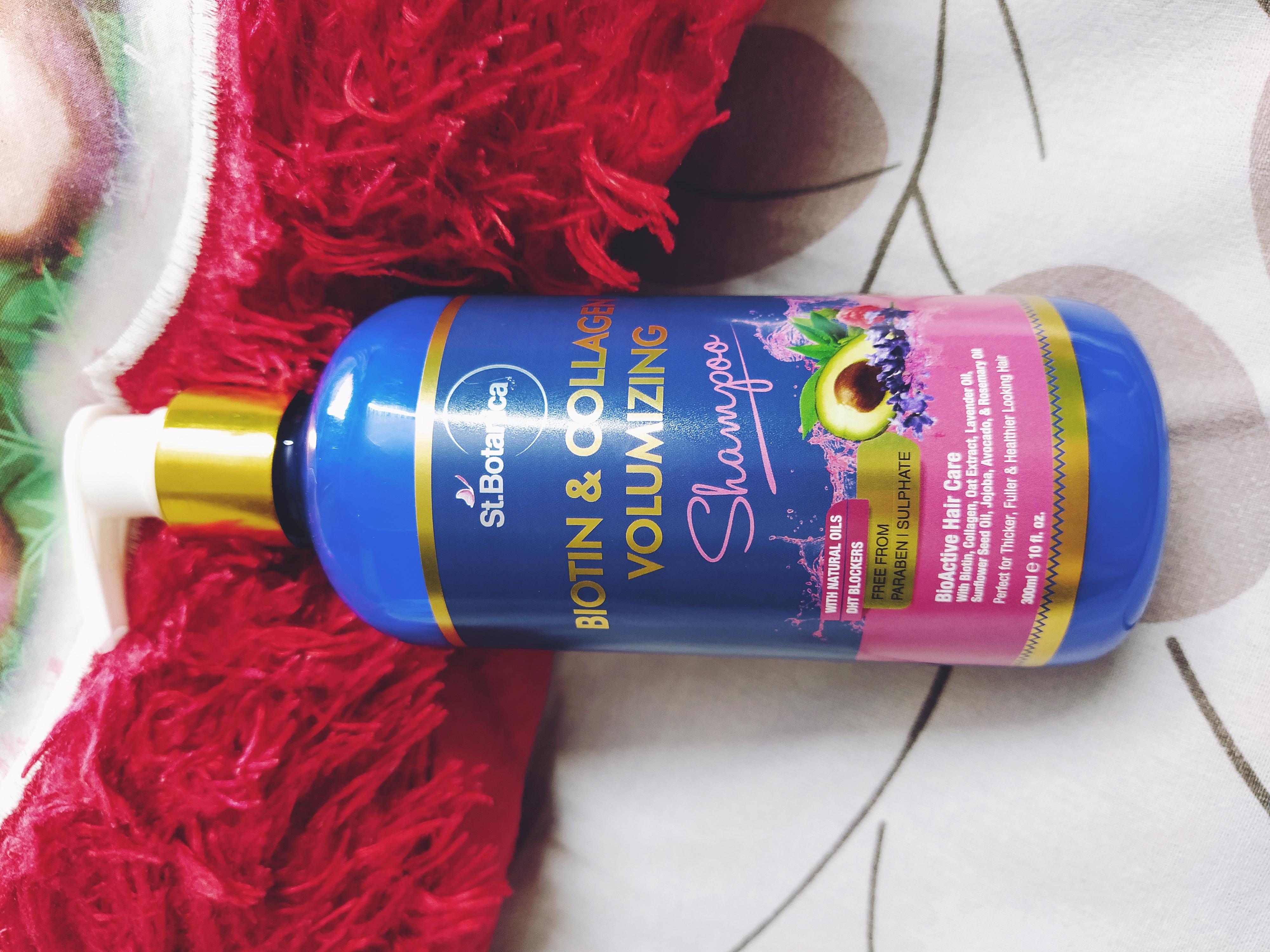 St.Botanica Biotin & Collagen Volumizing Hair Shampoo-Volumize your hair.-By isharajput883-2