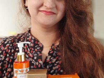 St.Botanica Vitamin C Brightening Body Lotion pic 1-A good body lotion-By shwetasandhu