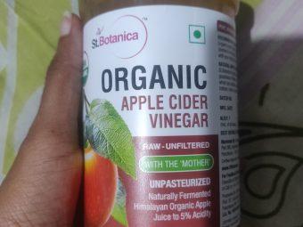 St Botanica Apple Cider Vinegar -Nice product-By nivethitha