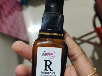 St.Botanica Retinol 2.5% Vitamin E & Hyaluronic Acid Professional Facial Serum pic 2-Amazing product-By nivethitha