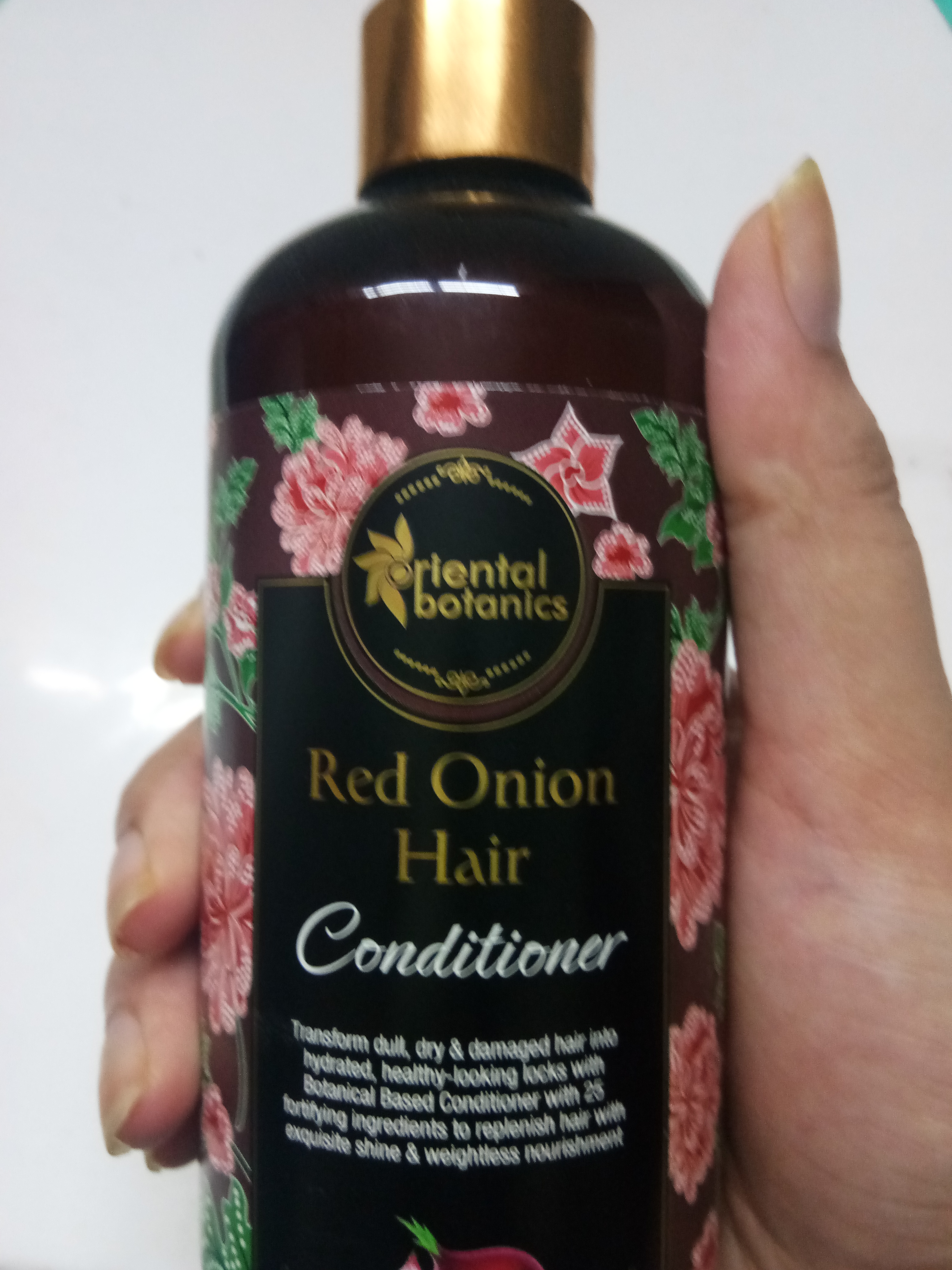 Oriental Botanics Red Onion Hair Conditioner-smoothens hair from first use-By avishakaushik