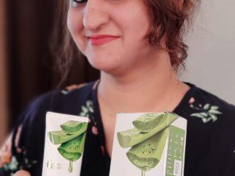 Oriental Botanics Aloe Vera Green Tea & Cucumber Sunscreen SPF 50 -Great sunscreen-By shwetasandhu